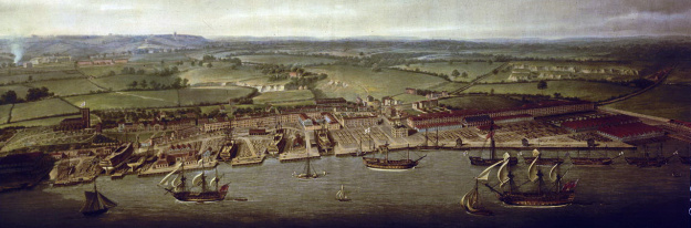 woolwich-dockyard-in-1790