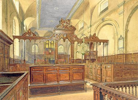 Wren's_All_Hallows_the_Great,_John_Crowther,_1884