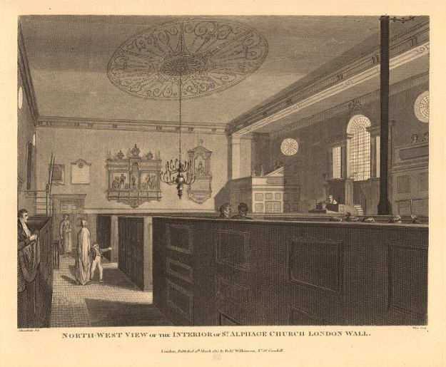 st-alphage-london-wall.-north-west-interior-view.-wilkinson-1834-old-print-364866-p