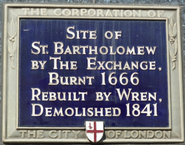 St Bartholomew by the Exchange