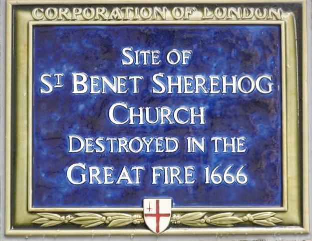 St Benet Sherehog