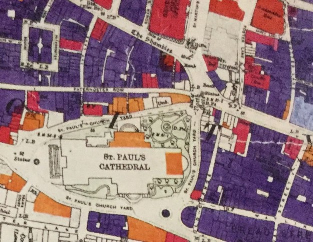 Bomb-damage-map-showing-St-Pauls1