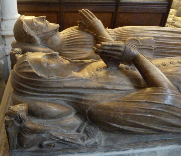 Oteswich memorial (c. 1400), St Helen Bishopsgate