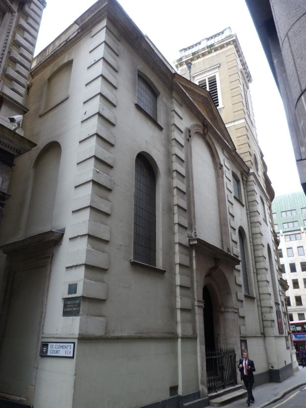 St Clement Eastcheap 1
