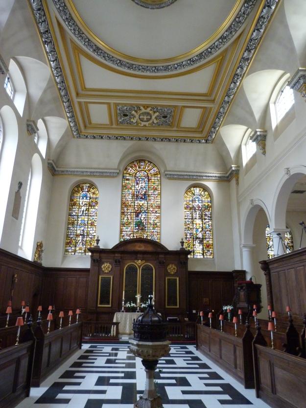 St Vedast interior